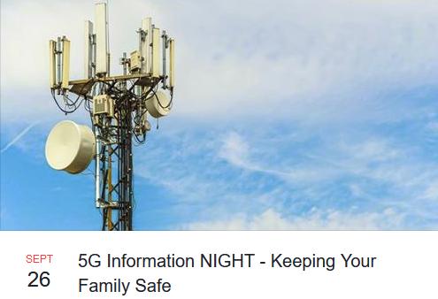 5G Information Night in Orewa, Thursday September 26, 2019